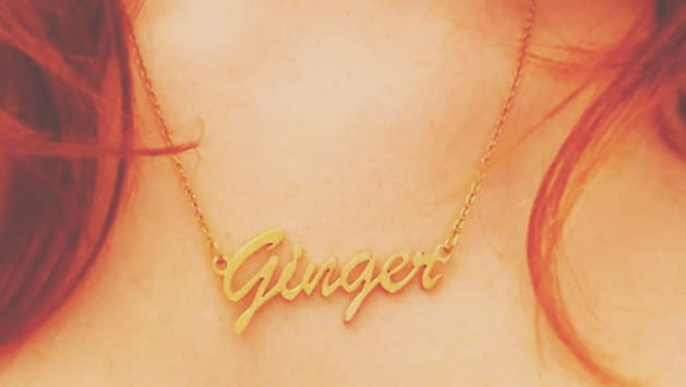 Store: 'Ginger' Name Necklace