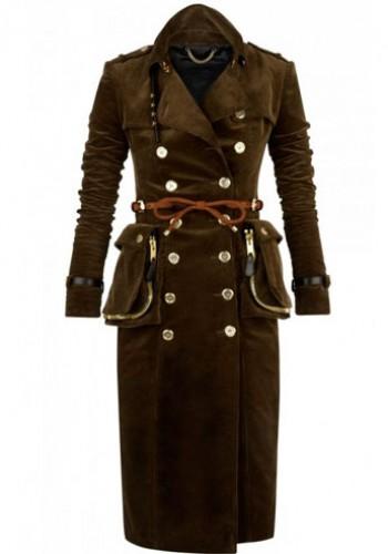 Burberry military coat