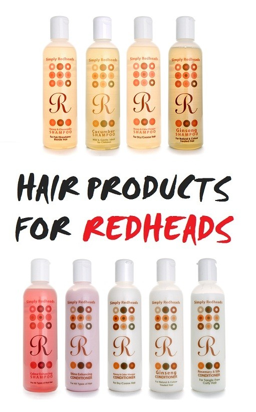 Hair products for Redheads