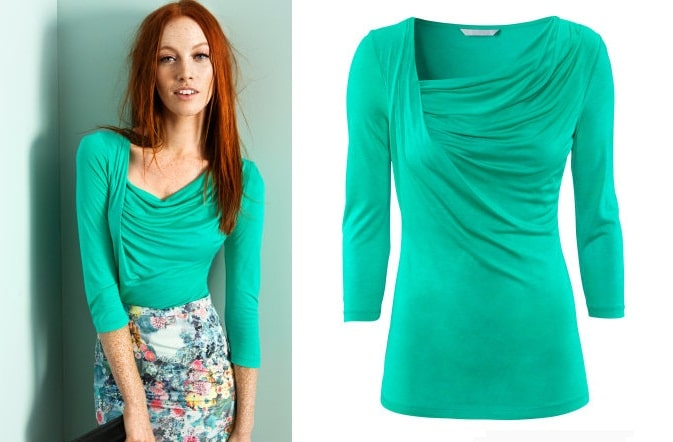 fashion for redheads minty fresh for spring 2013 ginger