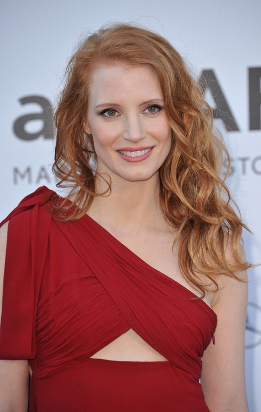 Jessica Chastain - Sexy Beach Waves