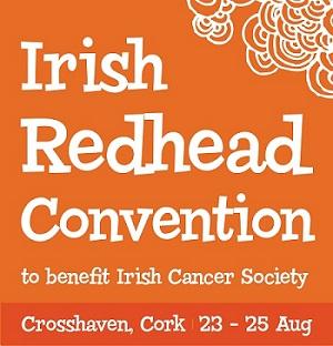 Irish Red Head Convention Logo
