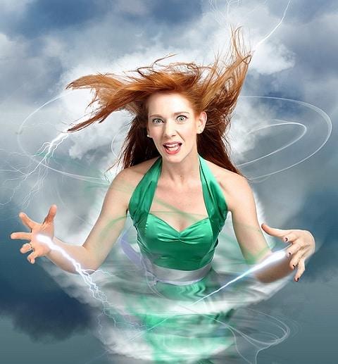 Diane Spencer - Edinburgh Fringe - Hurricane Diane