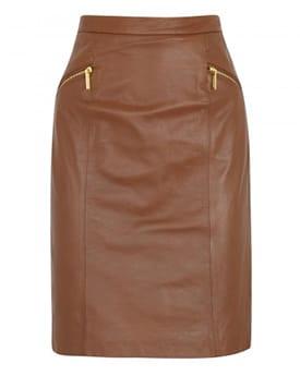 Brown Skirt - Michael Michael Kors