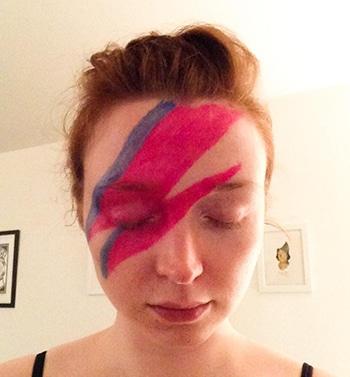 David Bowie Make-Up