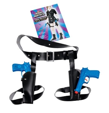 Gun Holster Halloween Fancy Dress - Black Widow