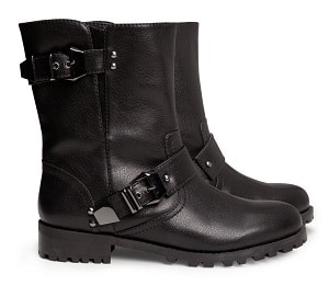 H&M Black Boots - Black Widow