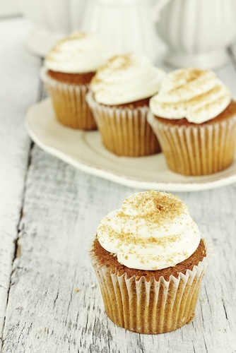 ... Pumpkin Cupcakes With Cinnamon Cream Cheese Frosting | Ginger Parrot