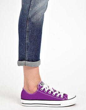 Purple Converse - ASOS
