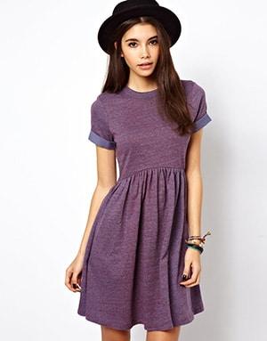 Purple Dress - ASOS