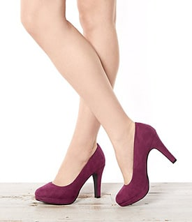 Purple Shoes - New Look