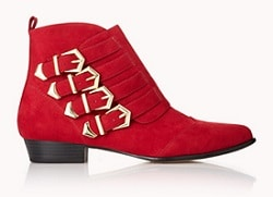 Red Boots - Forever 21