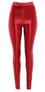Red Leggings - New Look