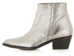 Silver Boots - Topshop