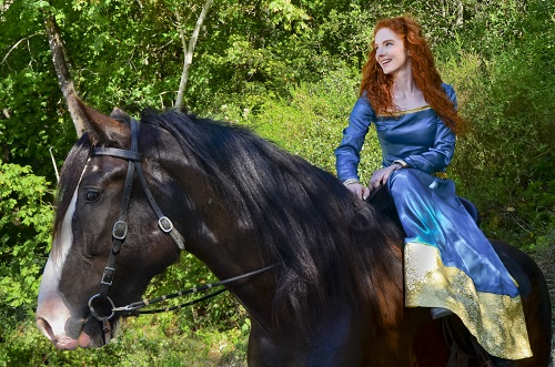 Virginia Hankins - Princess Merida