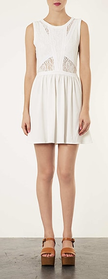 White Dress - Topshop