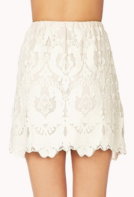White Skirt - Forever 21