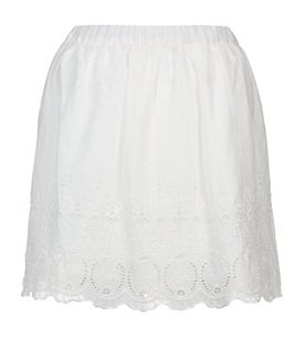 White Skirt - New Look