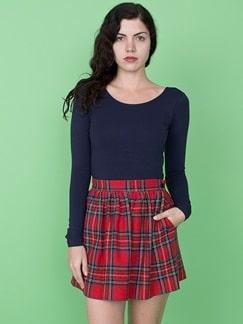 Tartan Skirt - American Apparel