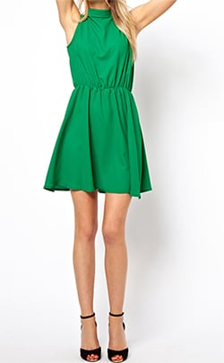 ASOS Emerald Green Dress