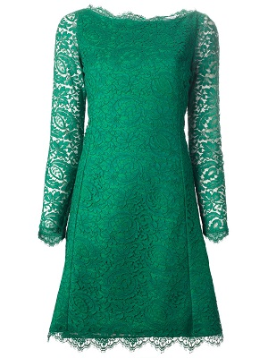 Farfetch Emerald Green Dress