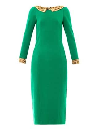 L'Wren Scott Emerald Green Dress