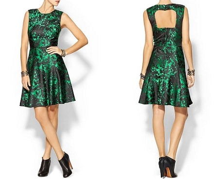 Pim and Larkin Emerald Green Dress