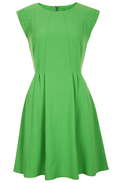 Topshop Emerald Green Dress