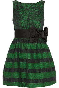 Valentino Emerald Green Dress