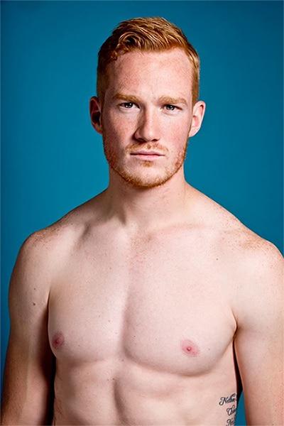 Redhead men calendar