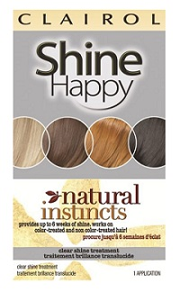 Clairol Shine Happy Natural Instincts Clear Shine