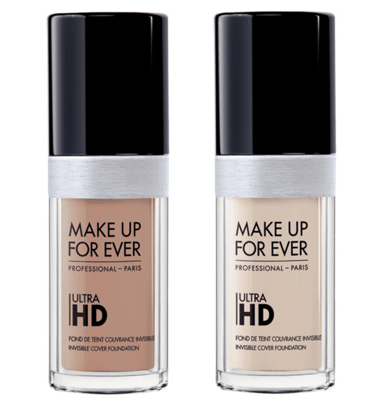 Make up for ever foundations