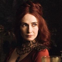 Carice van Houten Melisandre Redhead Ginger