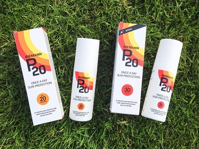 Product Review Riemann P20 Sunscreen Products Redheads