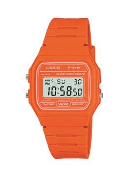 Casio-Orange-Watch