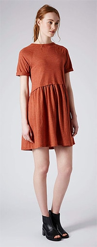 Orange-Dress-Topshop