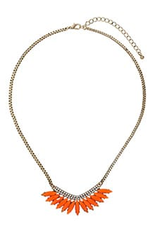 Orange-Necklace-Topshop