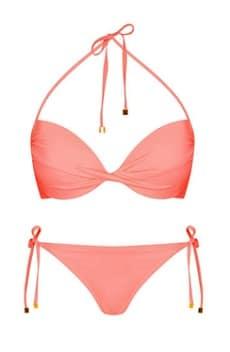 Topshop Coral Bikini
