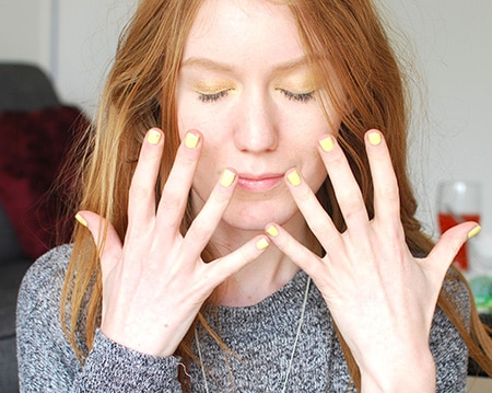 Yellow-for-Redheads-Gingers-Nails-MakeUp