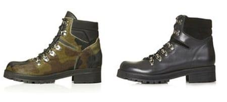 Combat Green Boots