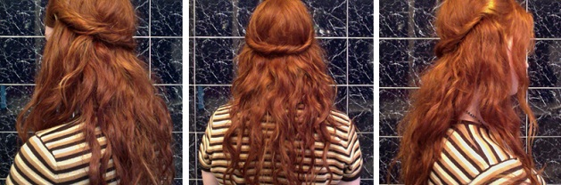 Ginger Hair Love Twist Sides