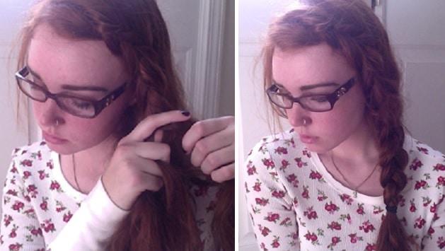 Hair Tutorial Dutch Braid - Ginger Parrot