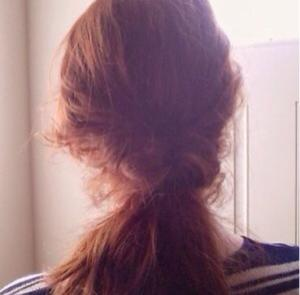 Hair Tutorial Perfect Messy Bun3