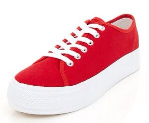 Red Sneakers Chucky Costume Halloween