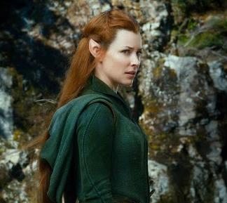Tauriel Red Hair Hobbit