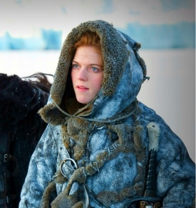 Rose leslie red head topless perky boobs bare butt game of thrones s03e05 2013 - 4 3