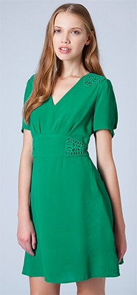 Green-Dress-Topshop