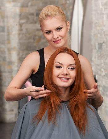 Redhead-hairdresser