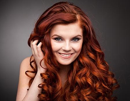 Redhead-happy