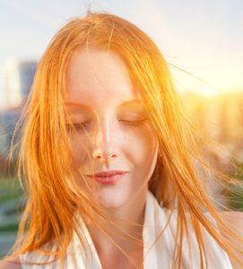Redhead-sunlight